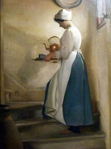 William McGregor Paxton - Dejeuner Venice