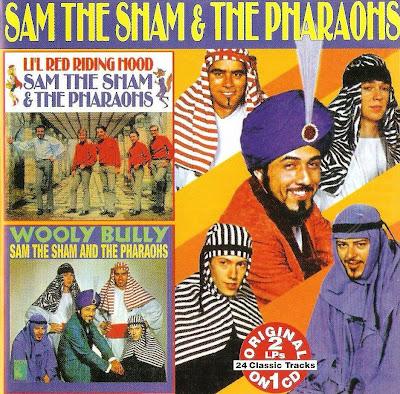 Sam the Sham & The Pharaohs ~ 1966 ~ Li'l Red Riding Hood + 1965 ~ Wooly Bully