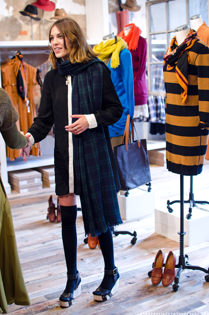 Alexa Chung for Madewell - Georgetown launch party