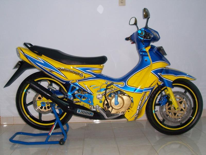 Suzuki Satria 120, in the