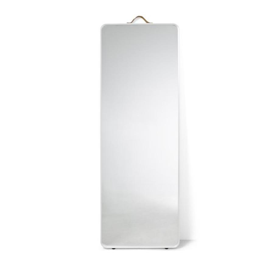 Specchio Menu da parete bianco
