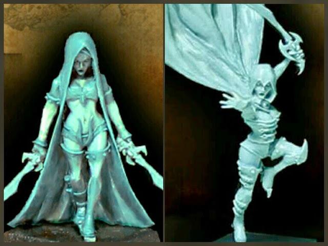Asesinas Elfas Oscuras de Avatar of War