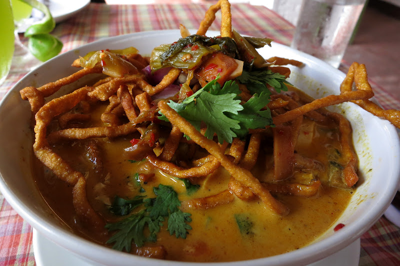 Khao soi at brown rice