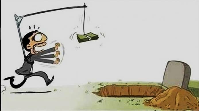 Thơ tiền bạc và vật chất trong cuộc đời