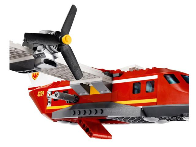 4209 レゴ フォレストファイヤープレーン
