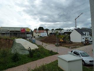 Eine weitere Baustelle in direkter Nachbarschaft
