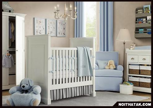 Phong thủy cho phòng trẻ sơ sinh