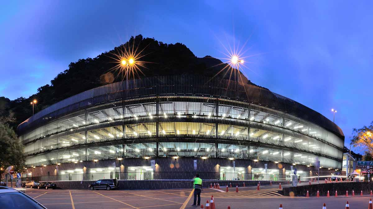 Wulai Parking Structure design by QLAB