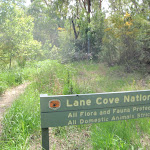 Lane Cove National Park sign (79735)