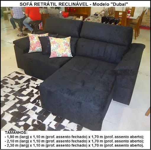 sofá de molas