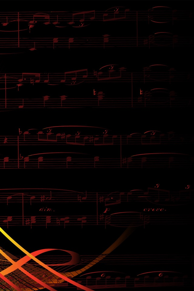 Music Sheet and Note Wallpapers For iPhone4S