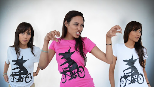 Women's Beached Miami Wolfcyclist Shirts