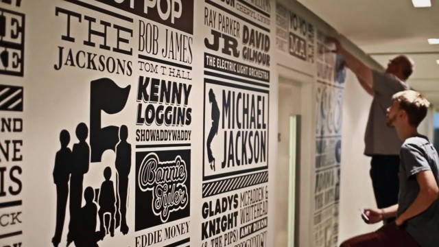 *Sony Music慶祝成立125周年紀念:利用活版印刷裝飾倫敦總部! 7