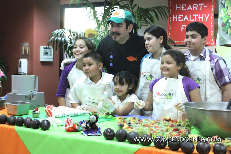Chef Aquiles to demonstrate heart-healthy and nutritious recipes to kids determined to fight diabetes