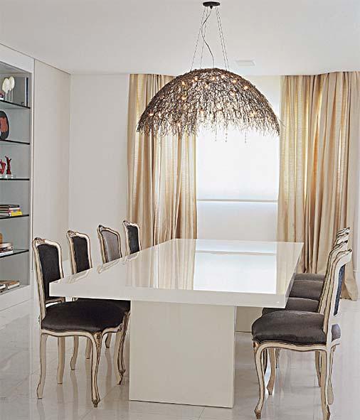 Lustres Para Sala De Jantar E Tv ~  INTERIOR DESIGN Lustre na sala de jantar sabe escolher o seu