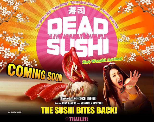 『DEAD SUSHI』公式サイト