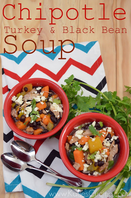 Chipotle Turkey & Black Bean Soup