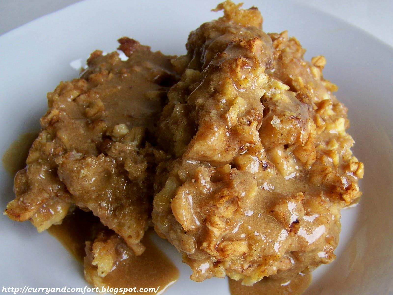 Cinnamon-Caramel Bread Puddings Recipe — Dishmaps