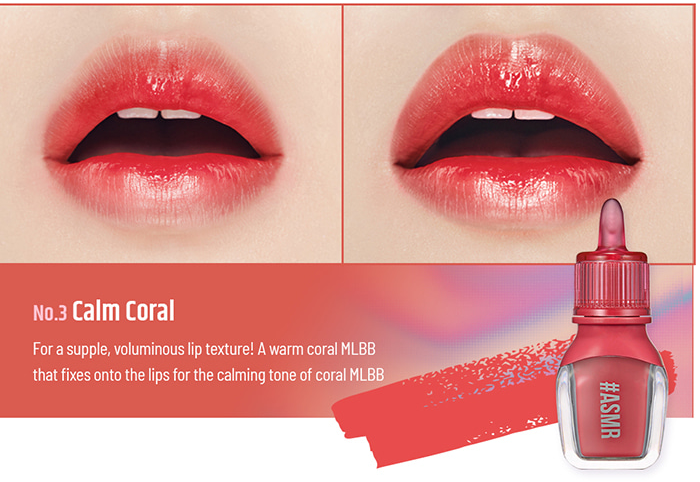 Son Peripera Sugar Jelly Tint Calm Coral