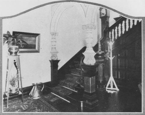Elegant timber staircase of Ross Roy