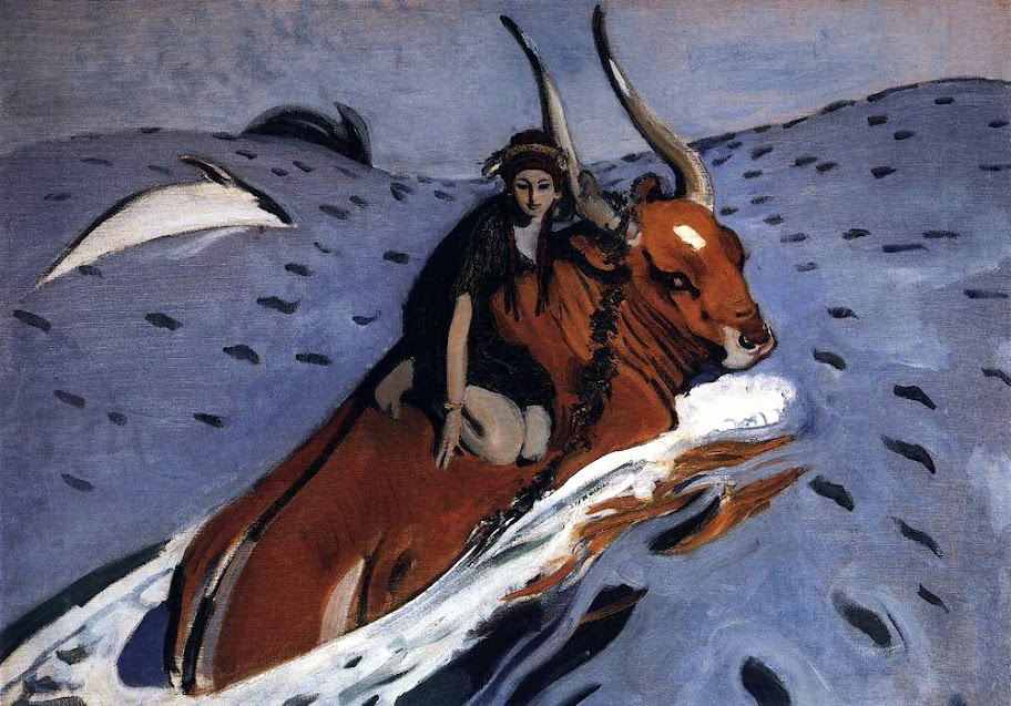 Valentin Serov - The Rape of Europe