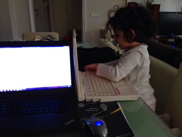 Bilgisayarlı ana kız :)