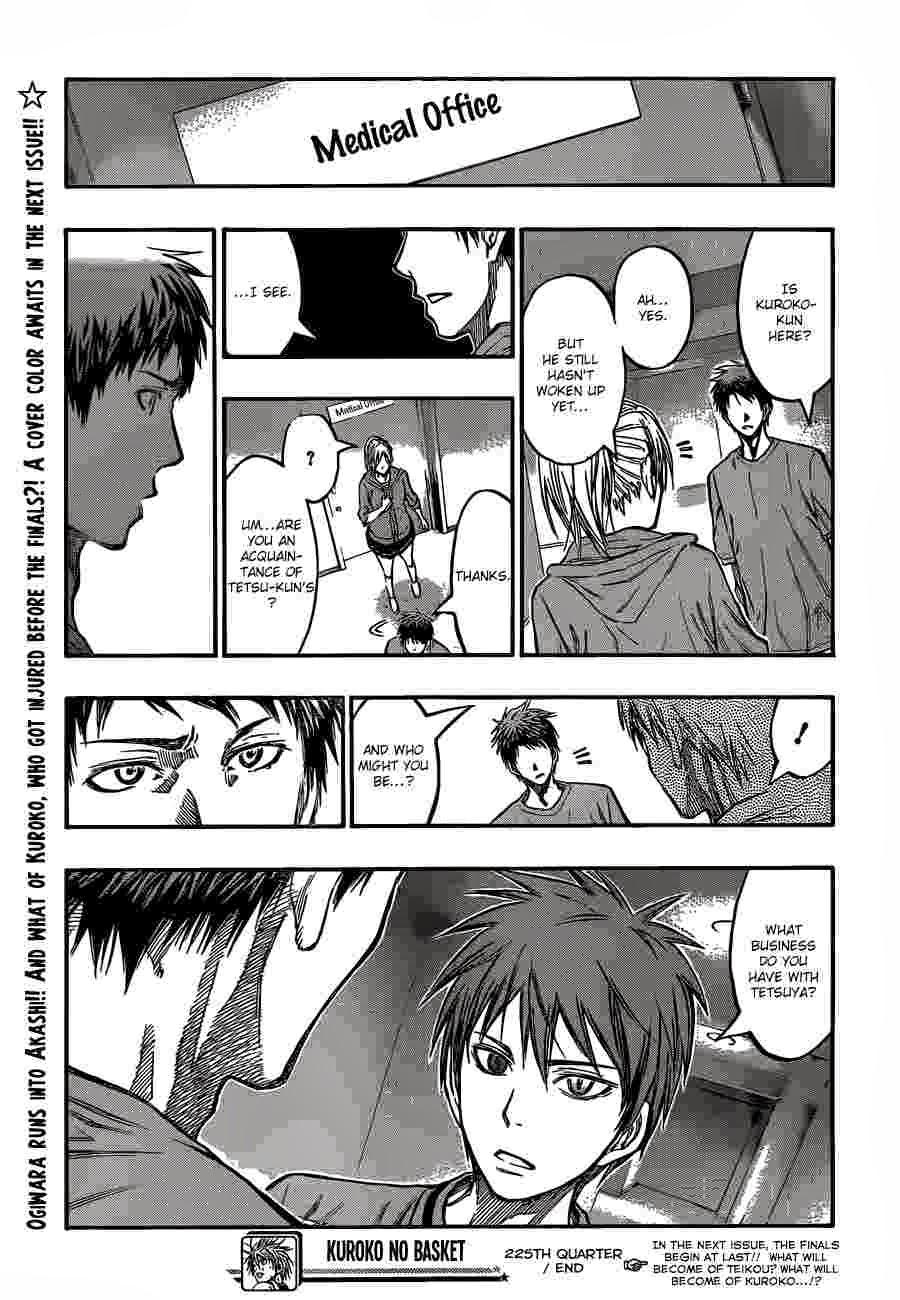 Kuroko no Basket Manga Chapter 225 - Image 19