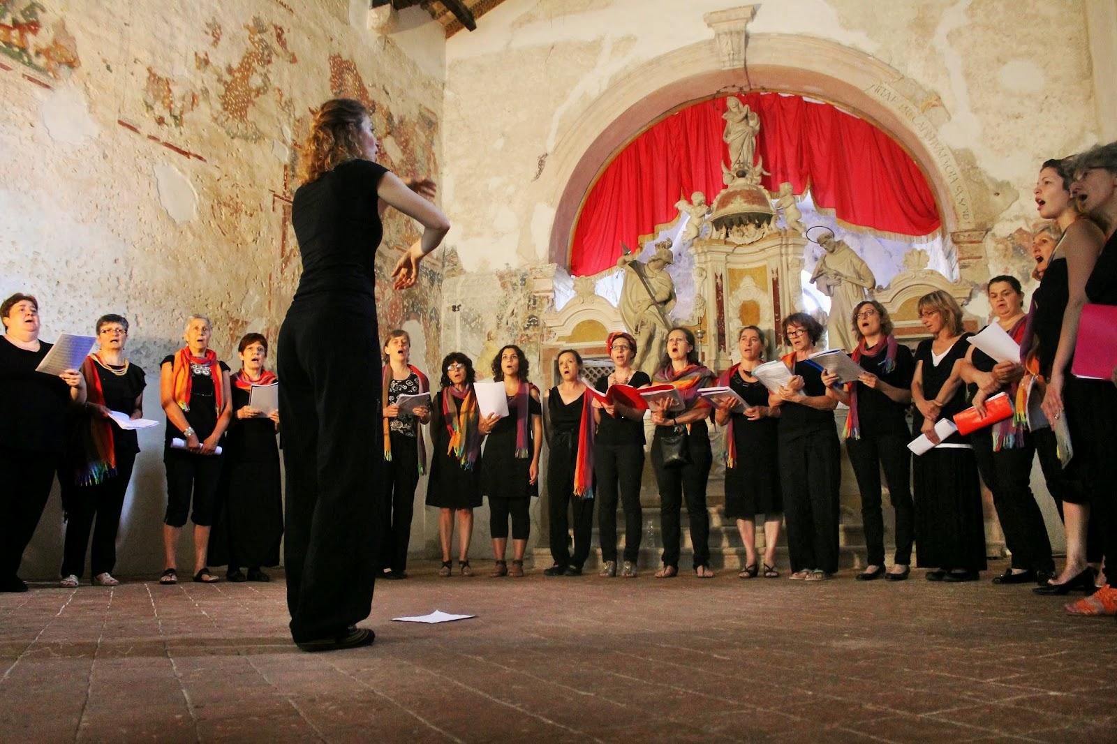 """il Coro de """"la Tela"""" a Cividale"""