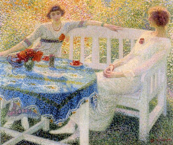 Leon De Smet – In the Garden