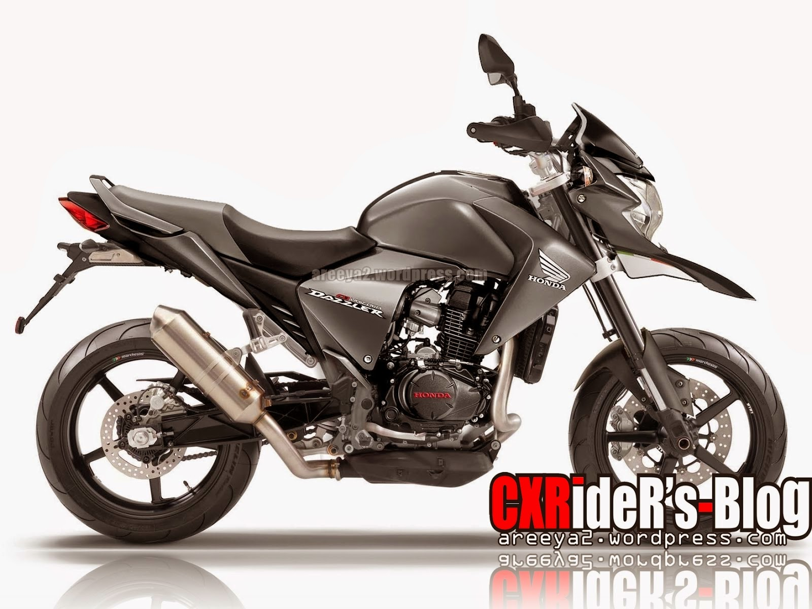 Foto Honda Tiger Modifikasi Trail