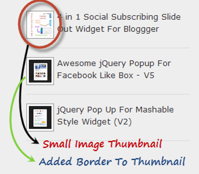 How to Reduce Image Tumbnail in Popular Posts Gadget