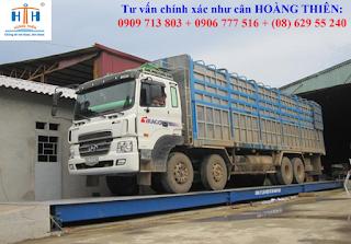 Móng cân xe tải 6m đến 16m tiêu chuẩn VN
