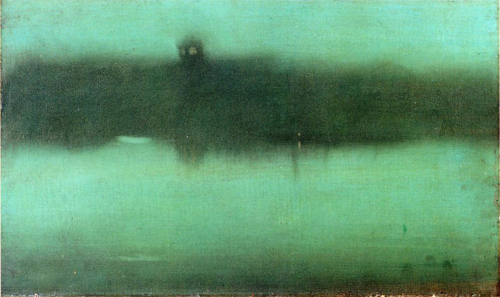 James Abbott McNeill Whistler - Nocturne, Grey and Silver