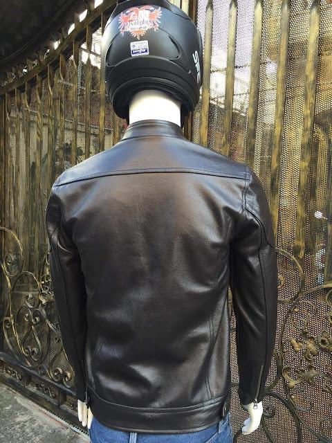 áo khoác da bò nam đen cao cấp đẹp xịn hàng hiệu