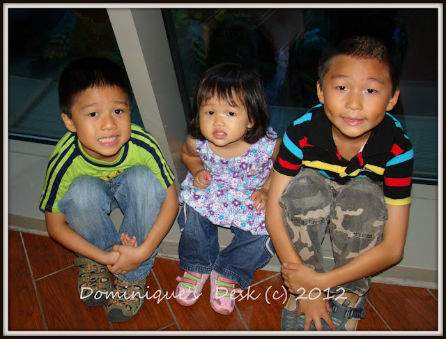 the 3 kids