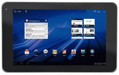 T-Mobile LG G-Slate tablet images