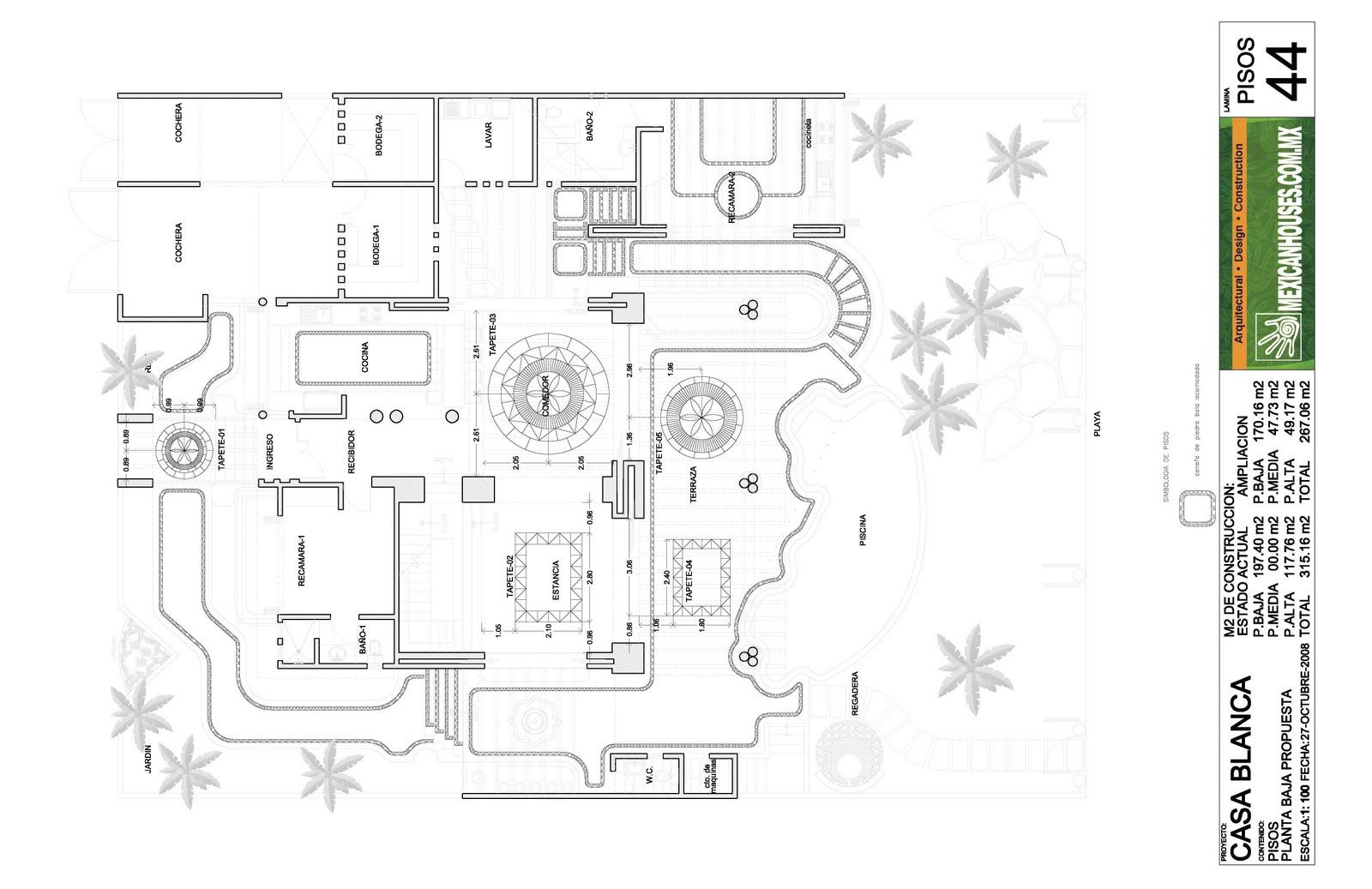 4a fase el proyecto arquitect nico constructivo for Programa arquitectonico de un restaurante pdf