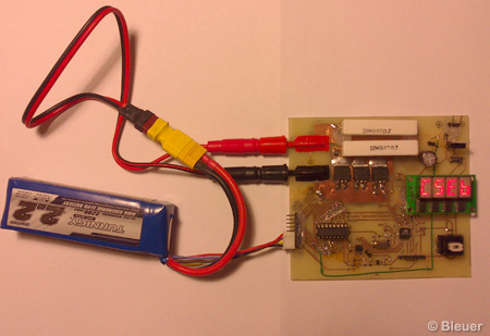 LiPO internal resistance measurement tool