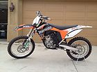 2011 KTM 350 SX low hours