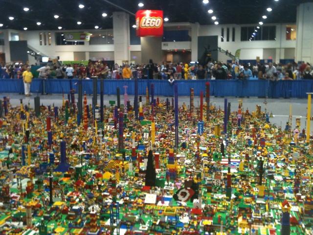Lego Fest Raleigh North Carolina 2011