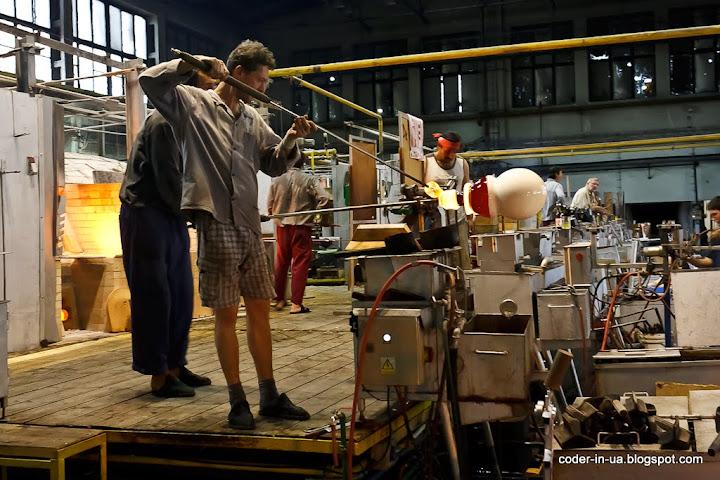 карловы вары. завод стекла мозер