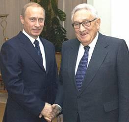 Фото - Путин и Киссинджер