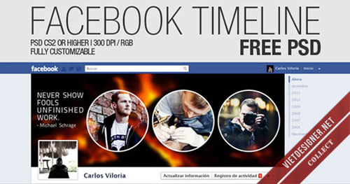 22 file PSD Cover Photo dành cho Facebook Timeline