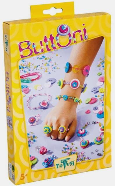 Hạt trang sức hạt nút thần kỳ Totum Buttoni được đựng trong hộp kín