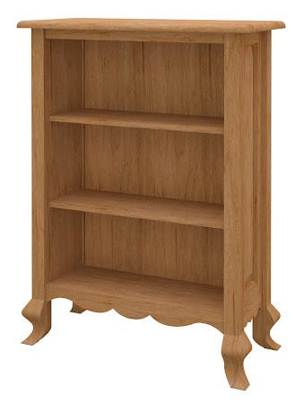 Orleans Standard Bookshelf in Calhoun Maple