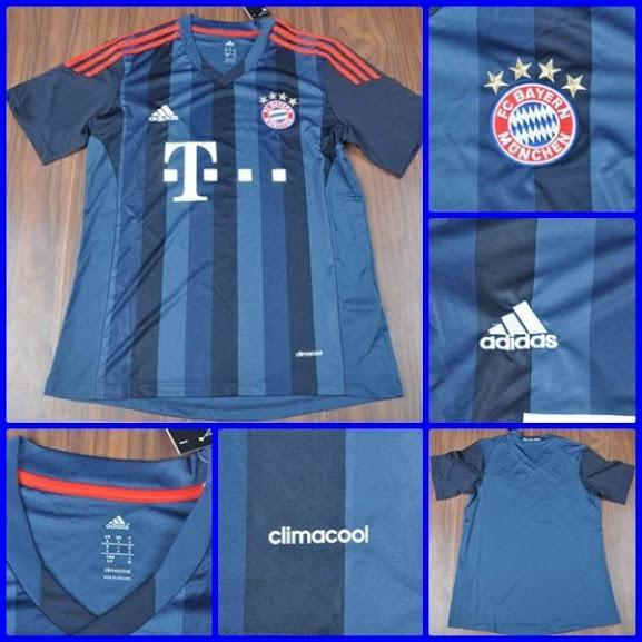Jual Jersey Bayern Munchen Third Terbaru 2014