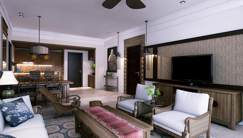 Mẫu căn hộ Condotel Beau Rivage Nha Trang