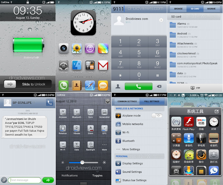 iPhone 4S iOS Theme for MIUI V4 (Update) | DroidViews
