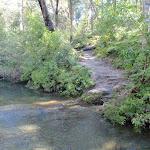 crossing Joe Crafts creek (72616)