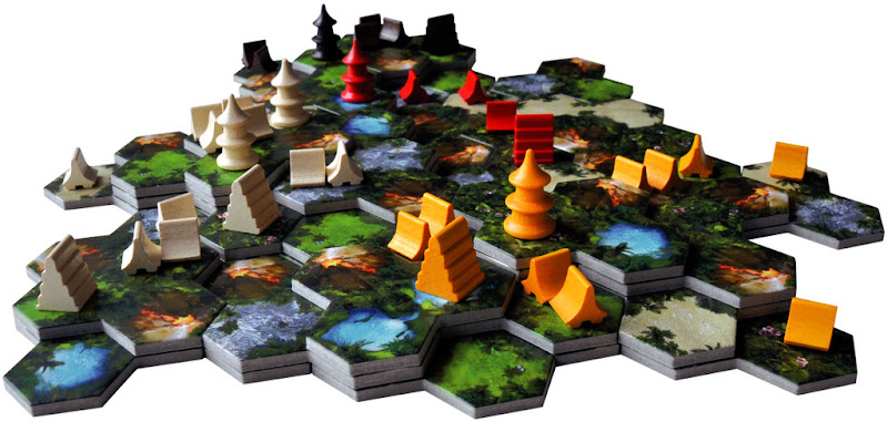 taluva boardgame new edition